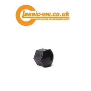 Black Wheel Nut Cover 19mm